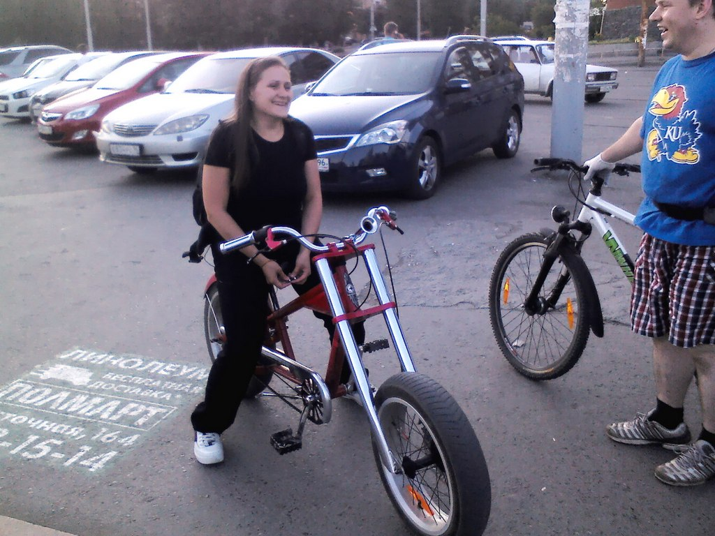фотораком на вело