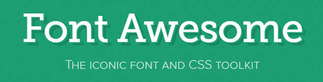 awesome-font-open-source-project