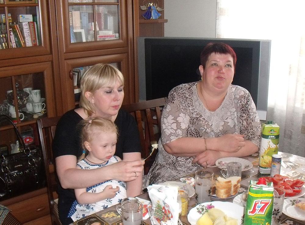 Семья то большая...