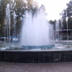 ЦПКиО - центральный фонтан