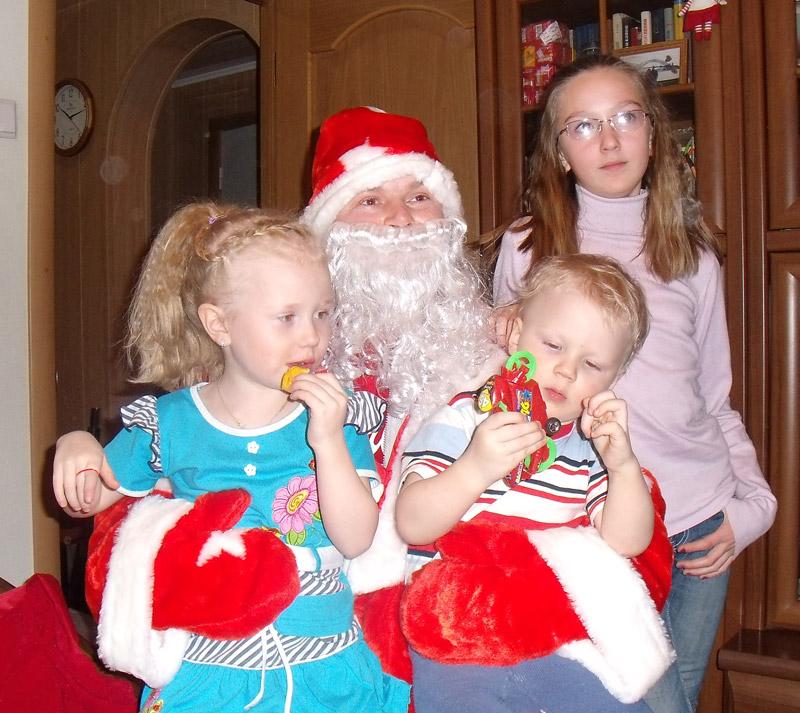 Фото с Дед Морозом