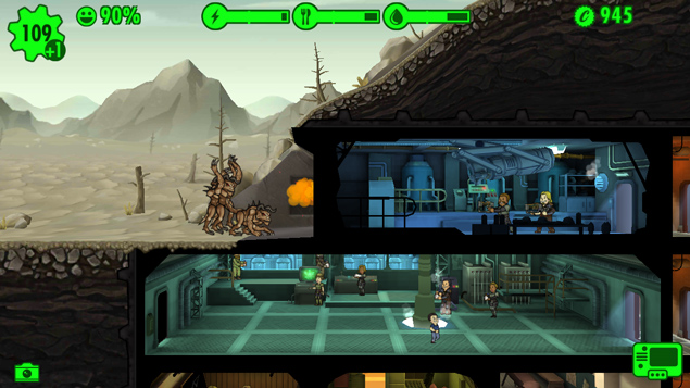 Fallout-Shelter-Death-Claw-Attack