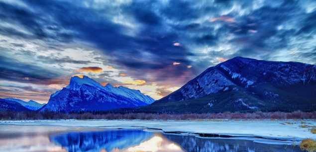 banff-canada-national-park-twilight